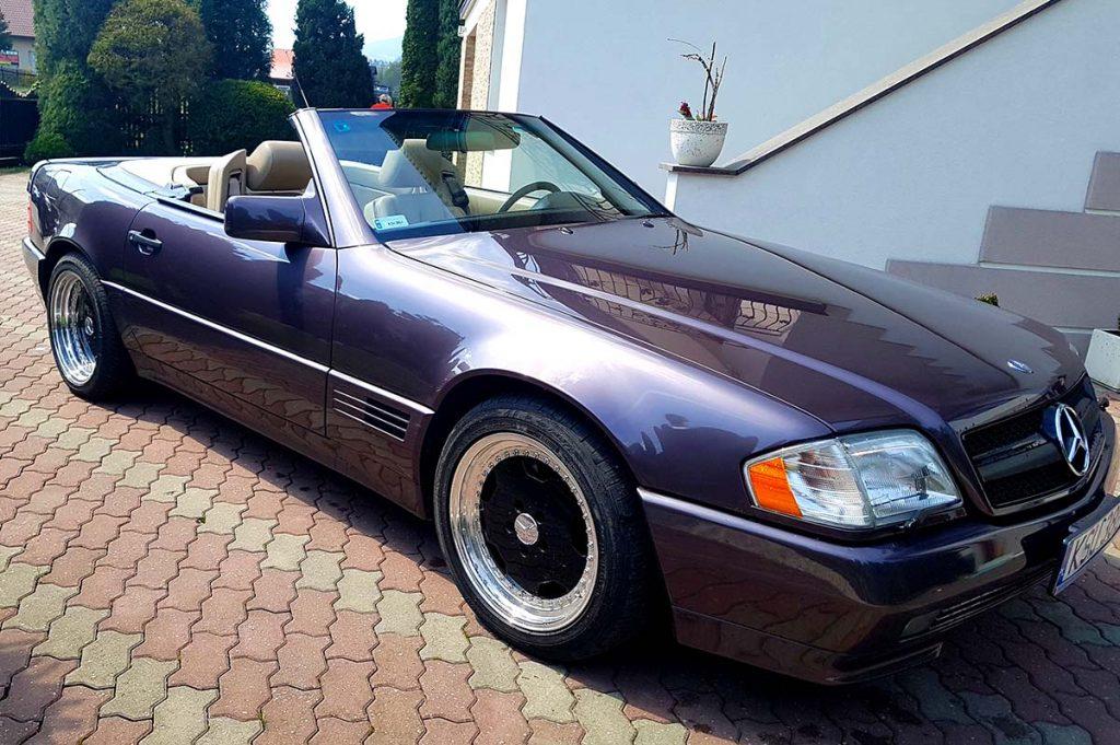 Mercedes SL AMG do ślubu małopolska